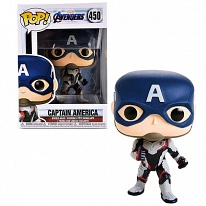 Funko POP 36661F Bobble: Marvel: Avengers Endgame: Captain America 36661