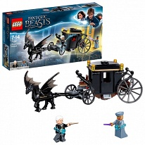 LEGO Harry Potter 75951 Конструктор ЛЕГО Гарри Поттер Побег Грин-де-Вальда