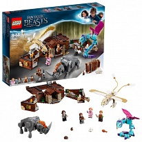 LEGO Harry Potter 75952 Конструктор ЛЕГО Гарри Поттер Чемодан Ньюта Саламандера